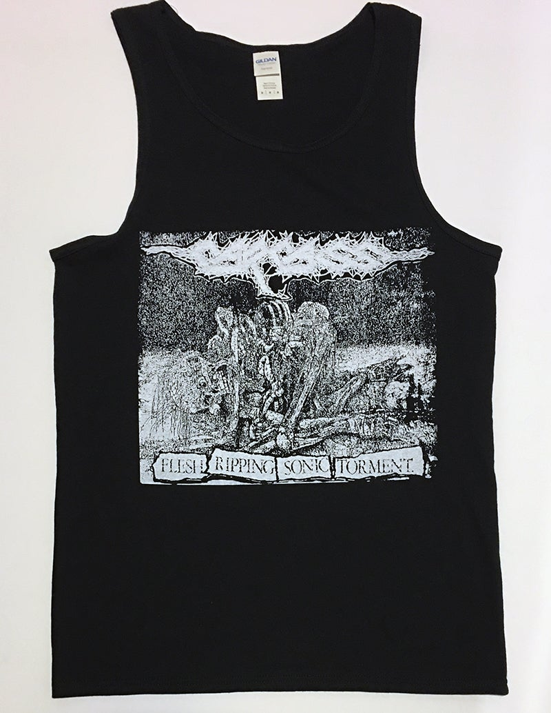 "Image of Carcass ""  Sonic Torment "" TankTop T shirt"