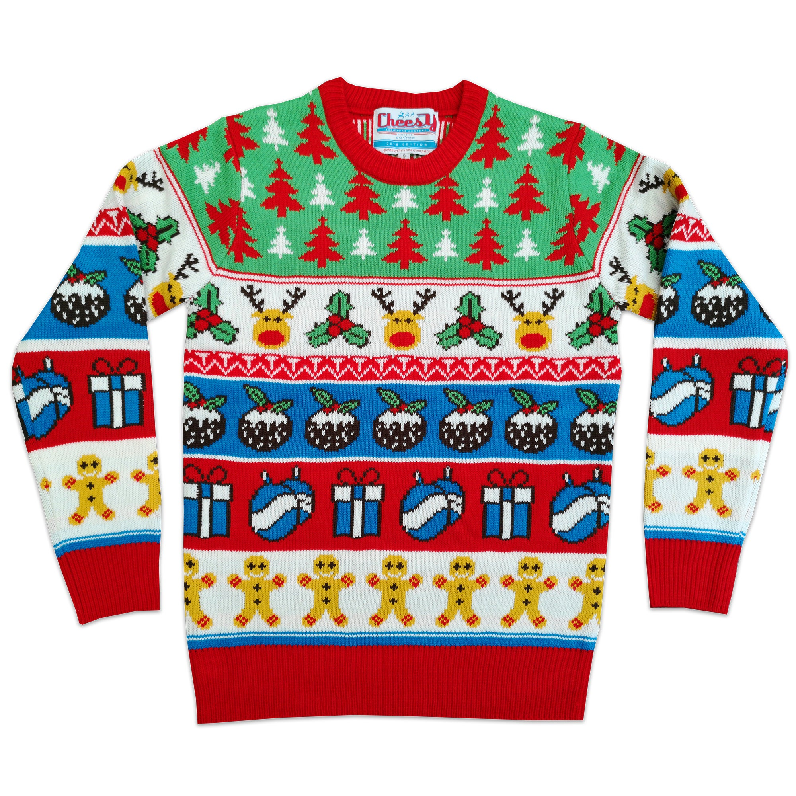 Holly Jolly Crimbo - Unisex Christmas Jumper / Cheesy Christmas Jumpers