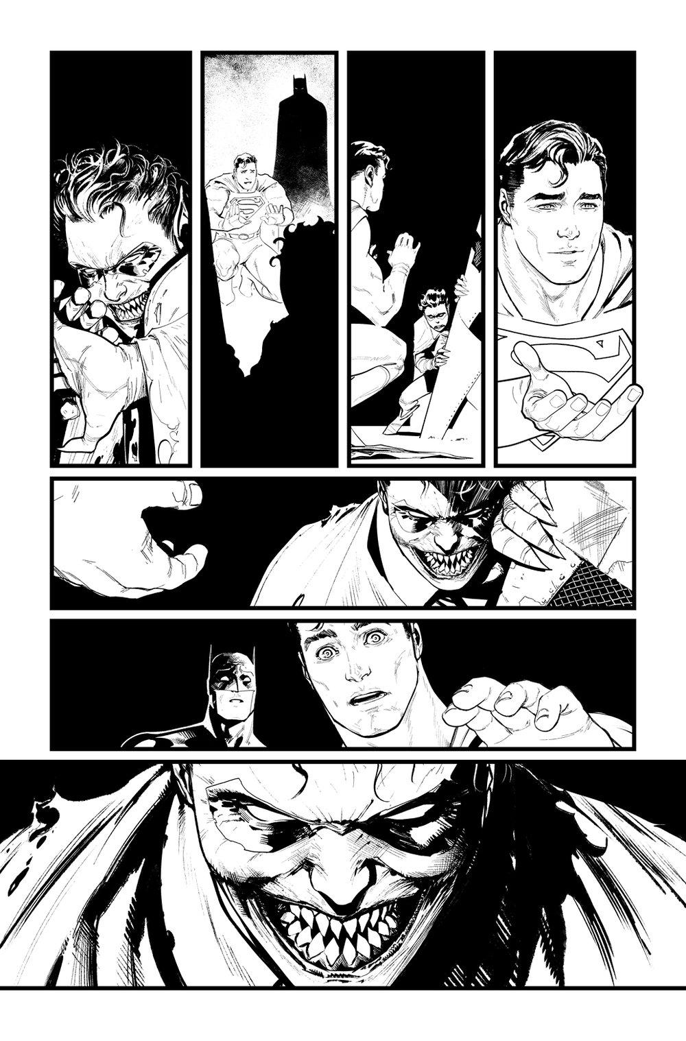 Image of BATMAN/SUPERMAN #1 p.19 ARTIST'S PROOF