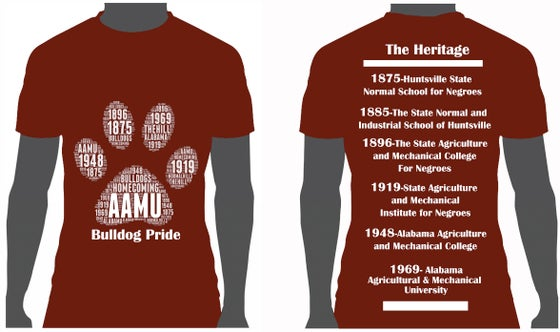Image of AAMU History T-Shirt