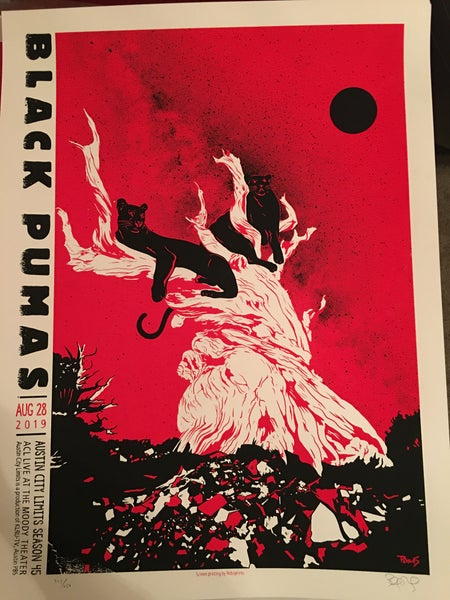 Image of Black Pumas - Austin City Limits Season 45 show poster