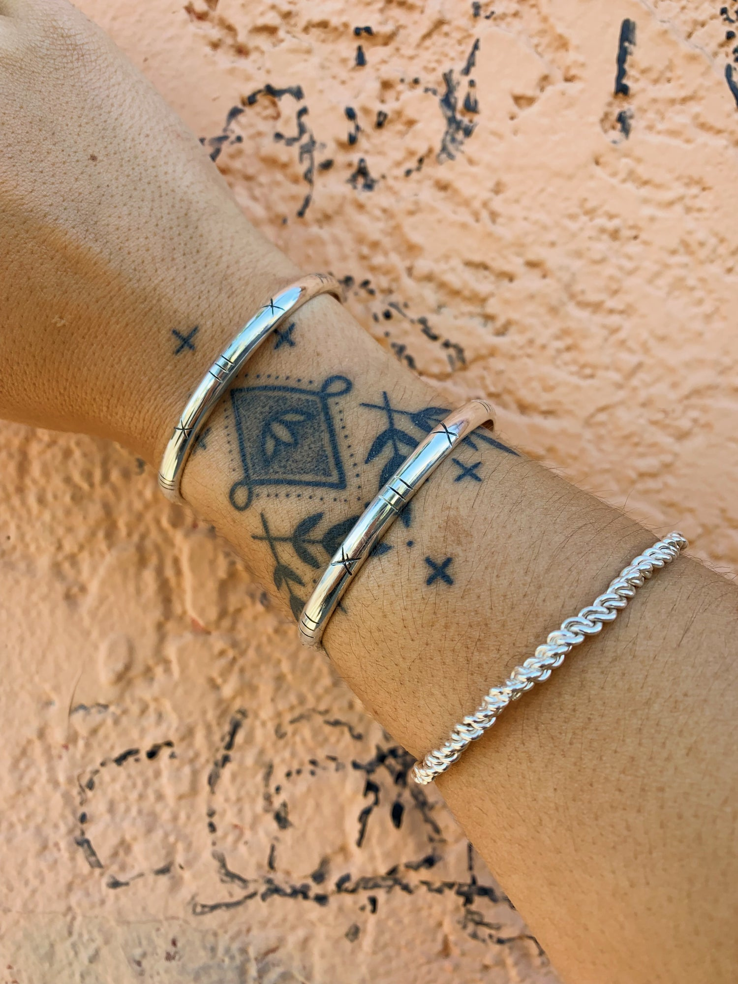 Image of Sterling Silver Cuff