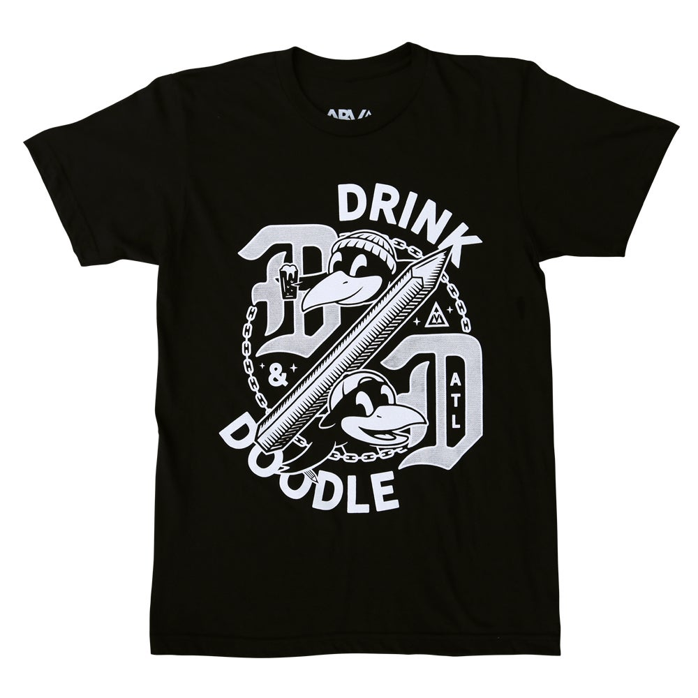 Image of Drink & Doodle - Limited Edition Tee