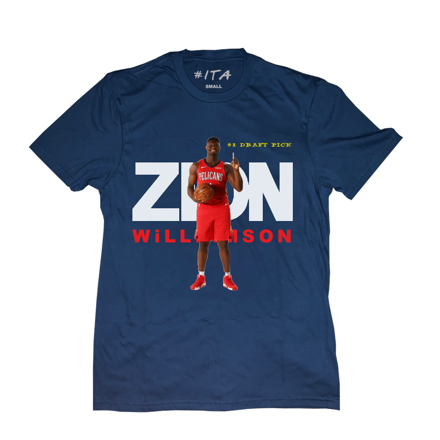 Image of #1 Draft Pick Tee Blue