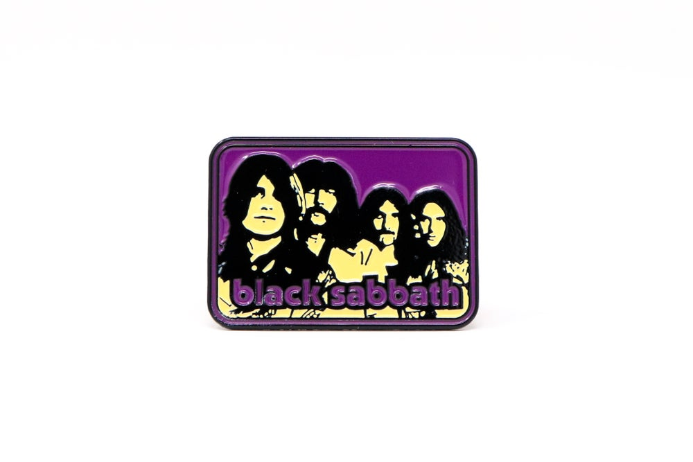 Image of Black Sabbath Full Band Enamel Pin