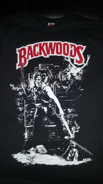 Image of BACKWOODS ASH T SHIRT (IN STOCK)