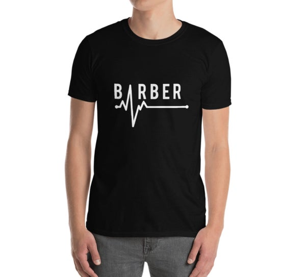 """Image of """"Barbering Saved My Life"""" Official T-shirt!"""