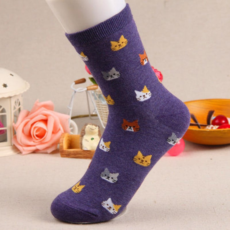 Image of CAT FACES SOCKS