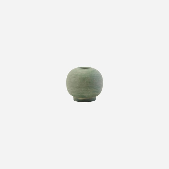 Image of Mini Bobbles vase, Dusty Green