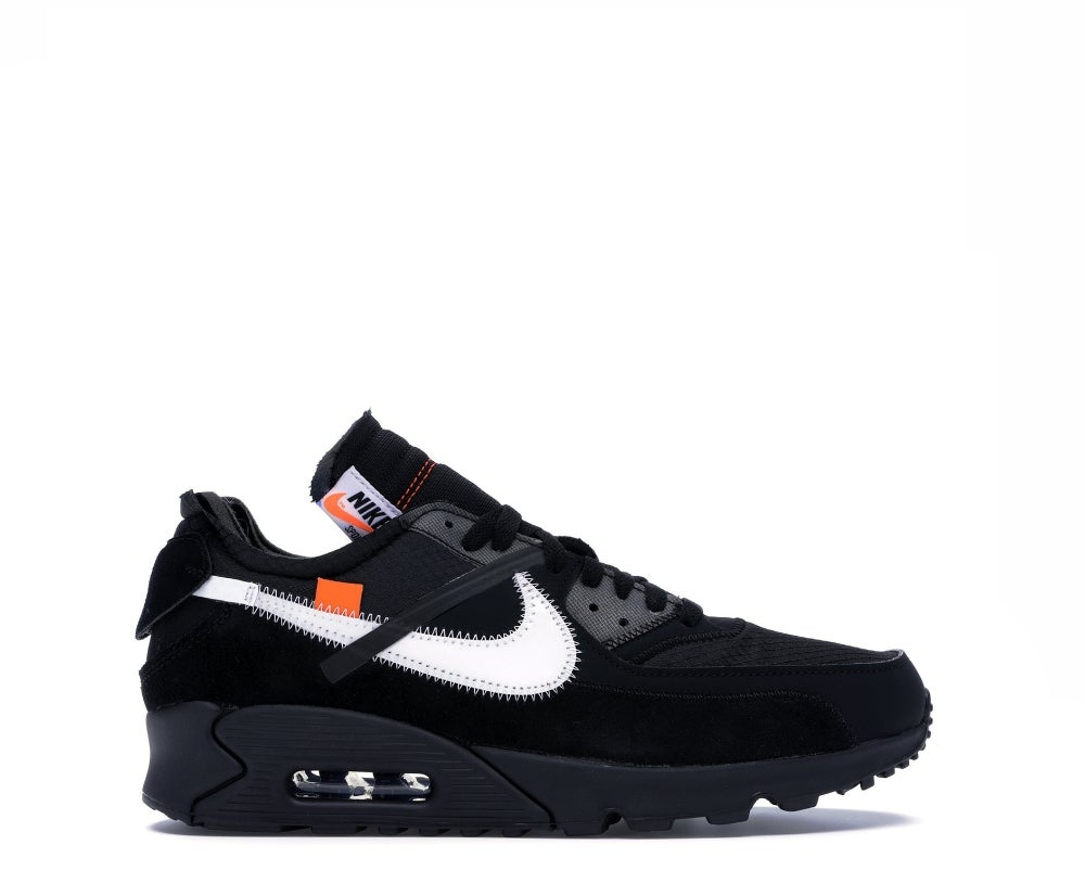 Image of NIKE AIR MAX 90 OFF-WHITE BLACK AA7293-001