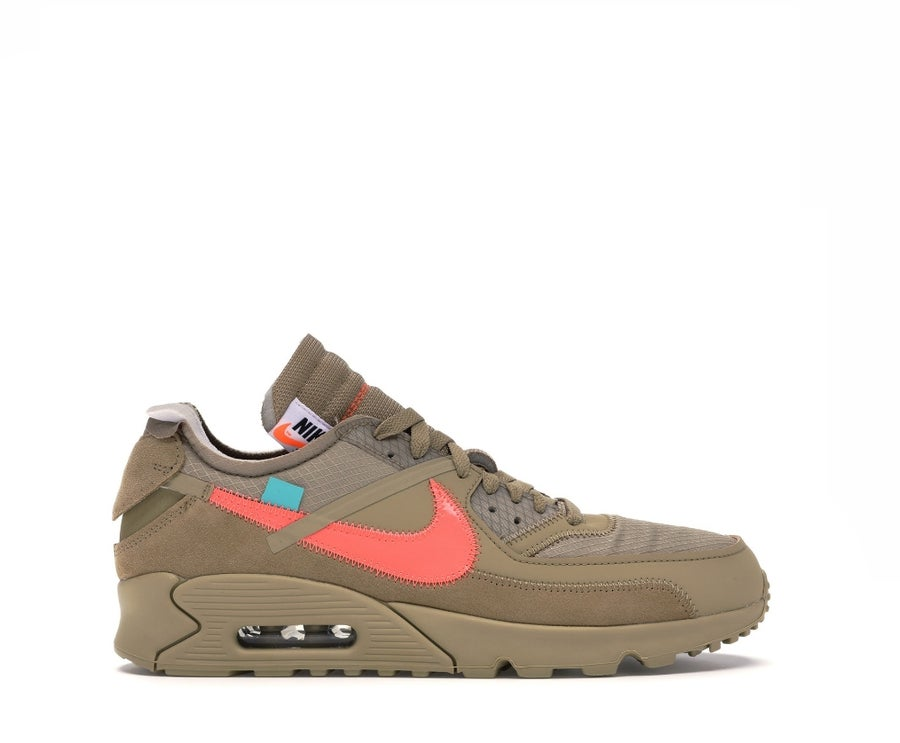 Image of NIKE AIR MAX 90 OFF-WHITE DESERT ORE AA7293-200