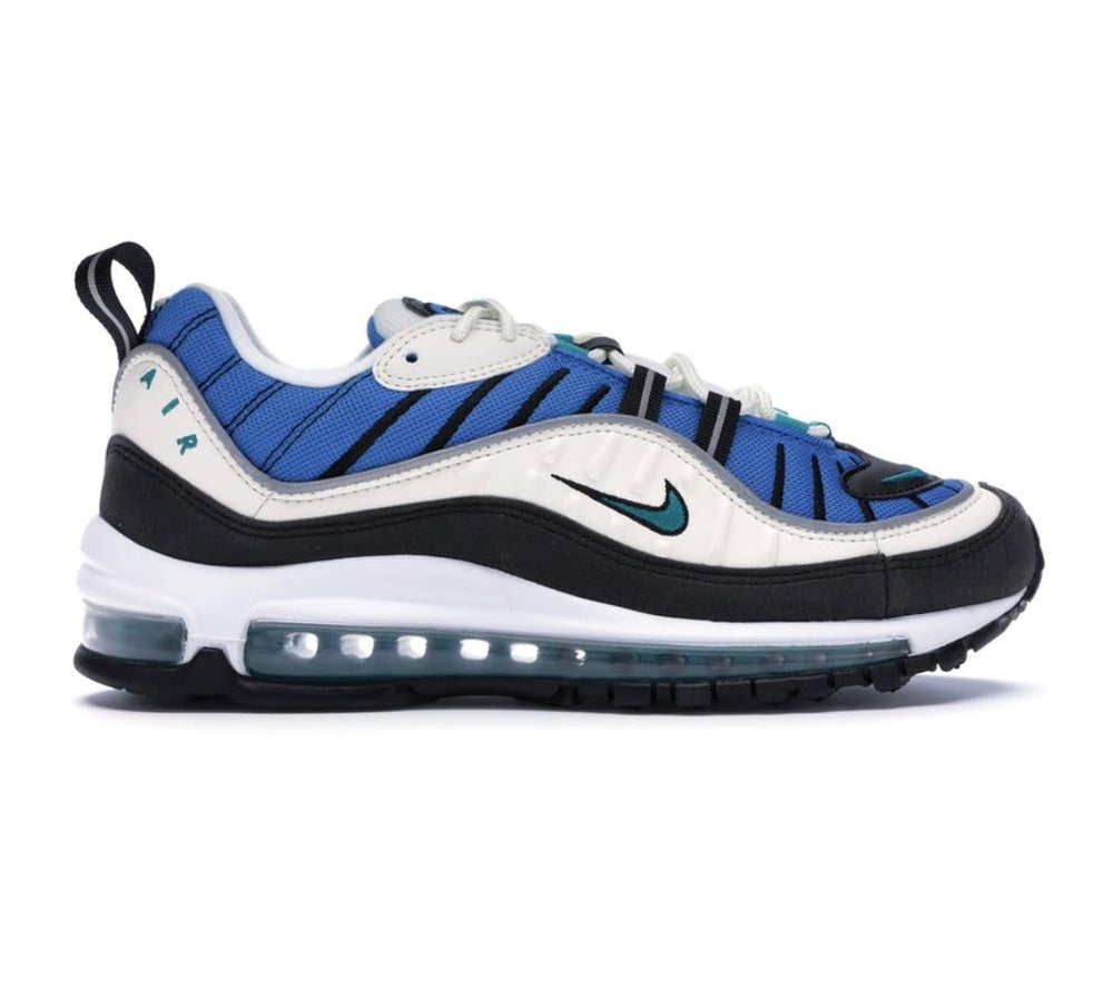 Image of Nike Air Max 98 - Radiant Emerald - WMNS Size 10/MENS Size 8.5