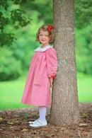 Image 1 of Vintage Reindeer Trim Collar Dress
