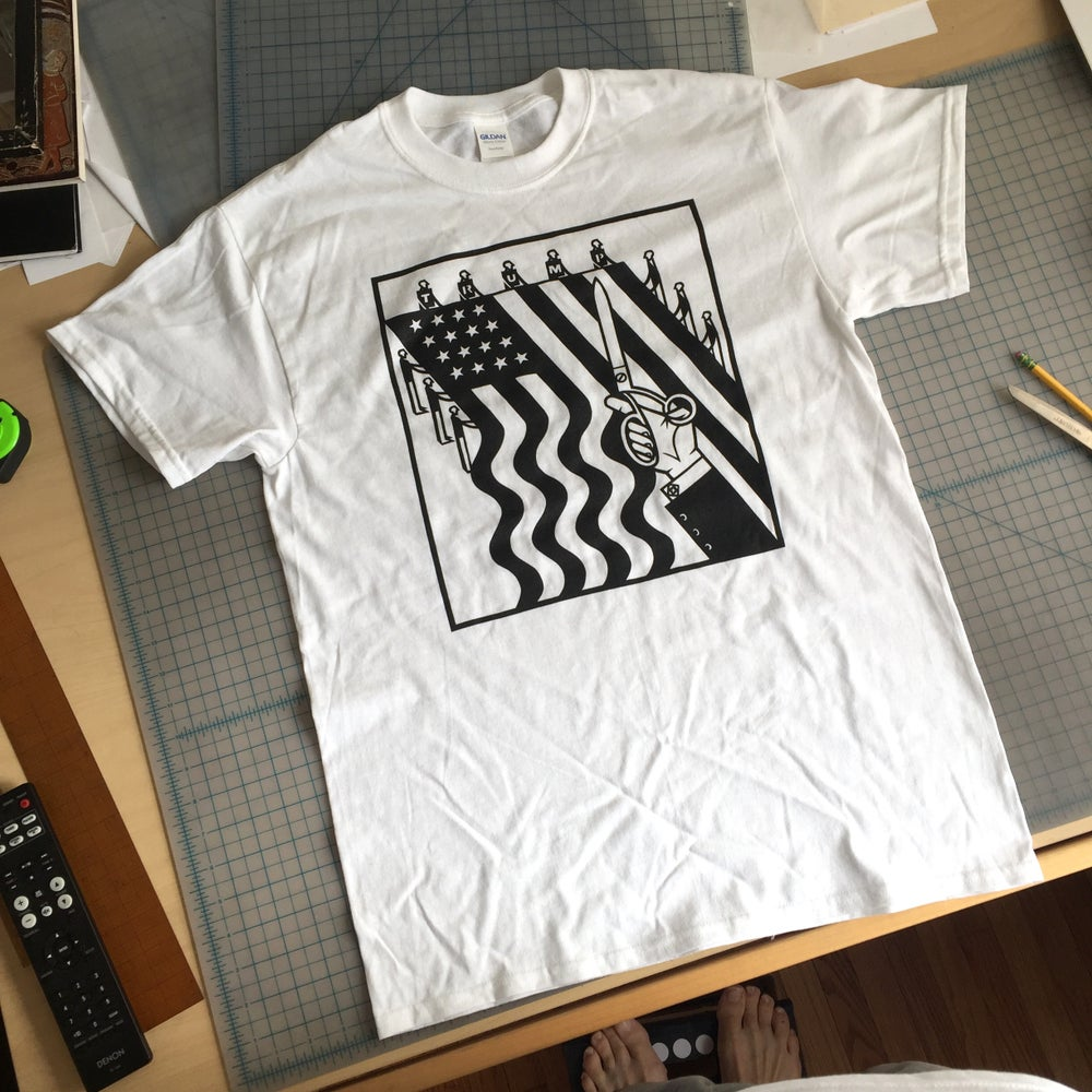 Image of Shorn Flag Tee