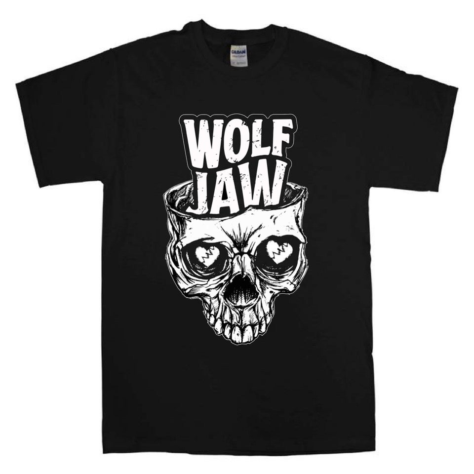 Image of Wolf Jaw Skull Tee