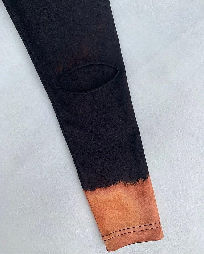 Image of Dip Rip Knee Leggings