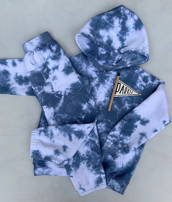Image of Tie Dye Joggers  ( Any Colour Available)
