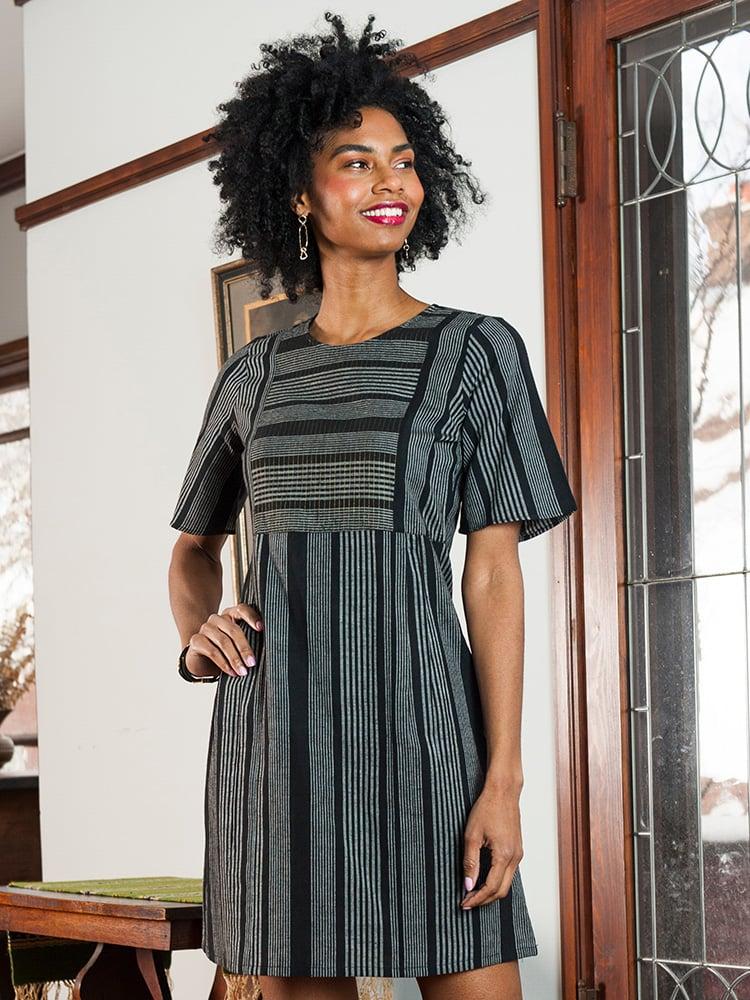 Image of Ritu Stripe Dress