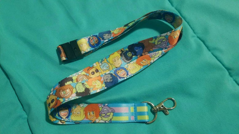 Image of Space School - Lanyard