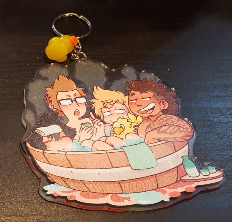 Image of FFXV - Acrylic Charm - Hot Springs