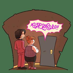 Image of Yakuza - Acrylic Standee - Karaoke Time!