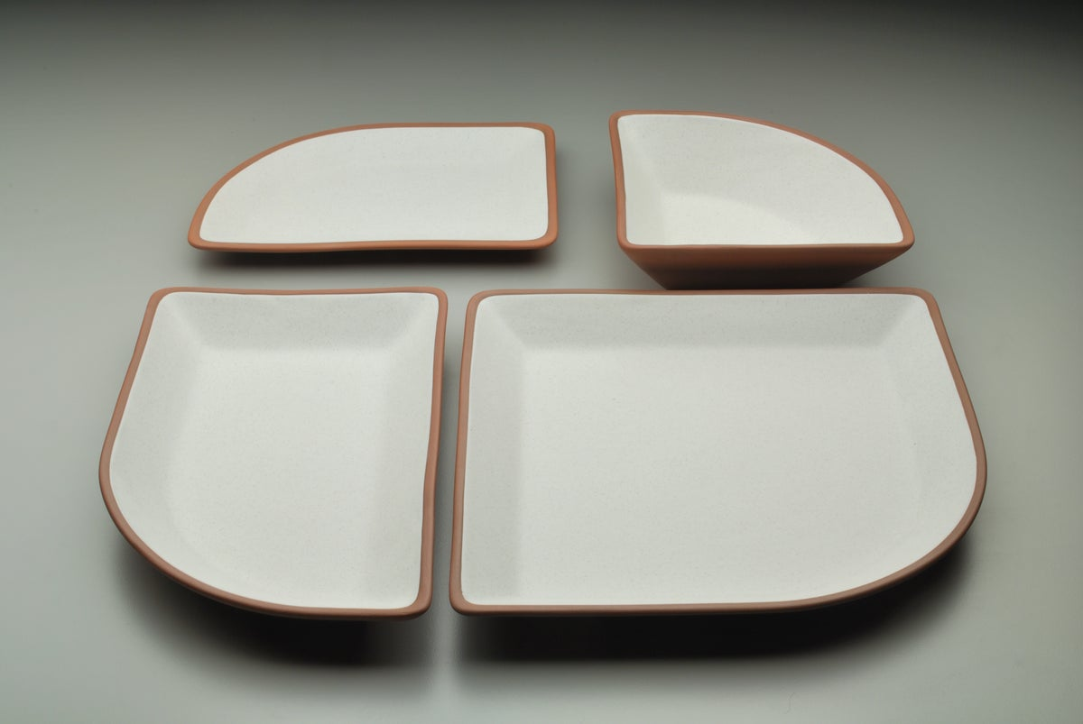 Image of Fan Dinnerware/Five-piece Fan Set