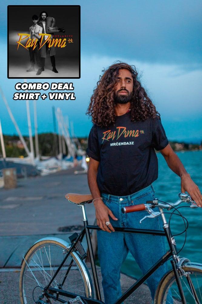 Image of COMBO DEAL MRCENDAJZ SHIRT + VINYL 12''