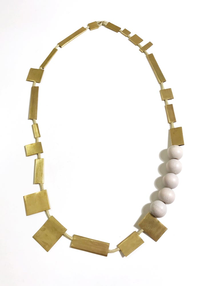 Image of shapes necklace