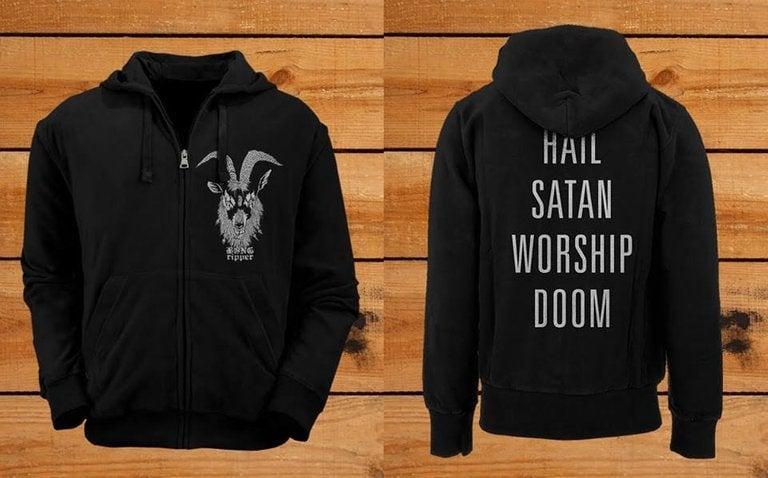 Image of Hail Satan Hoodie ( Pre-Order )
