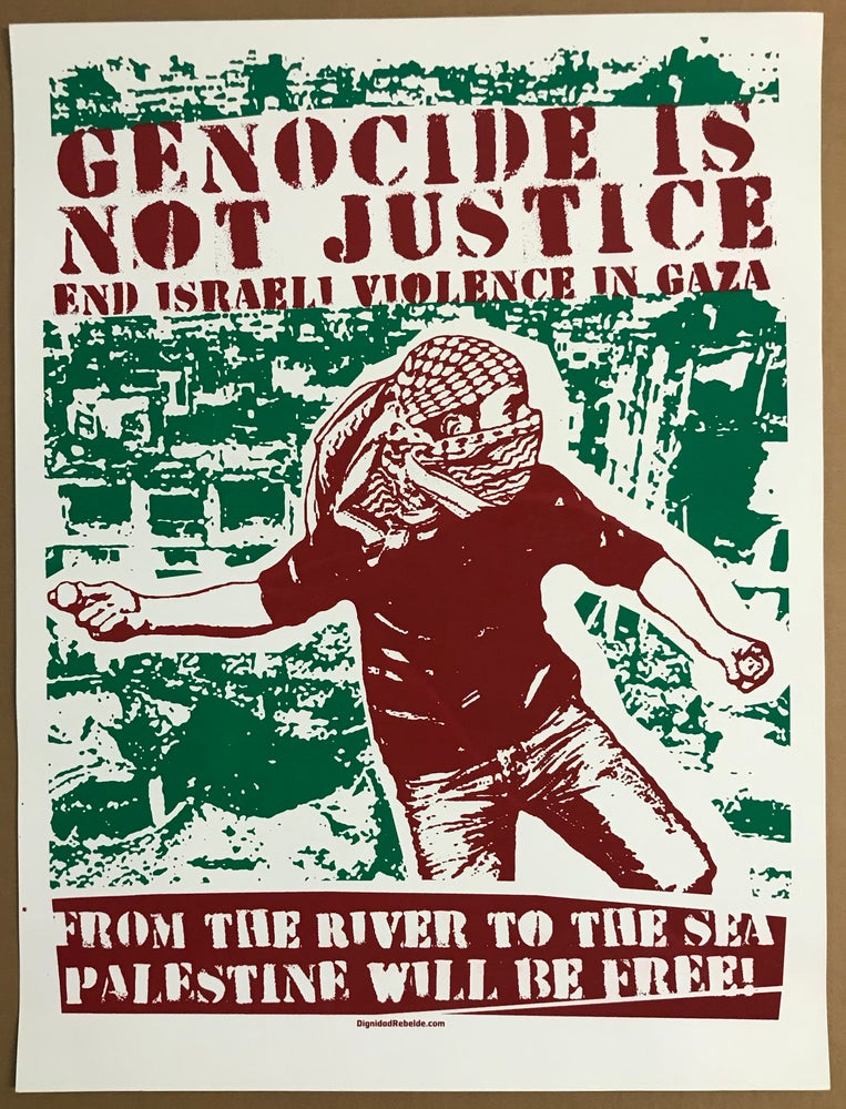 Image of Genocide is not Justice