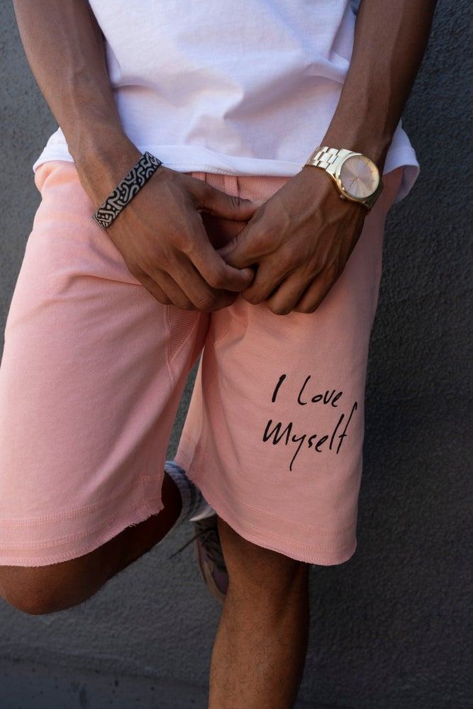 Image of Blush ILoveMyself shorts