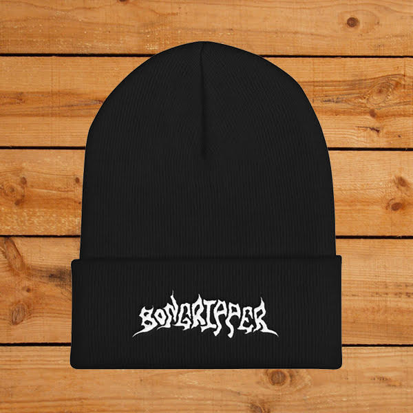Image of Bongripper Embroidered Logo Knit Beanie ( Pre-Order )