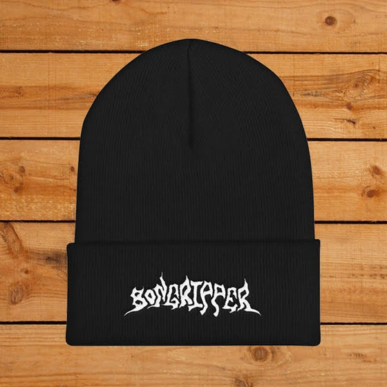 Image of Bongripper Embroidered Logo Knit Beanie