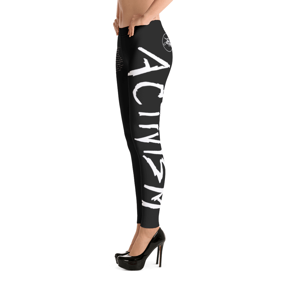 Image of ART X ACTIVISM Media Test II leggings