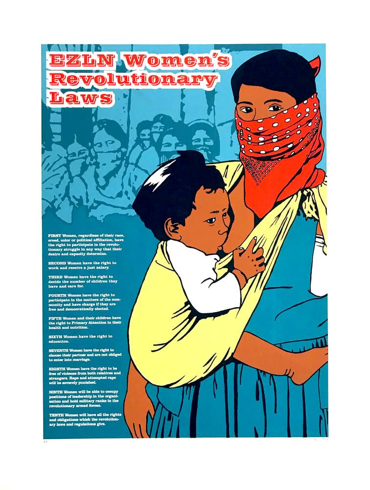 Image of EZLN Women's Revolutionary Laws