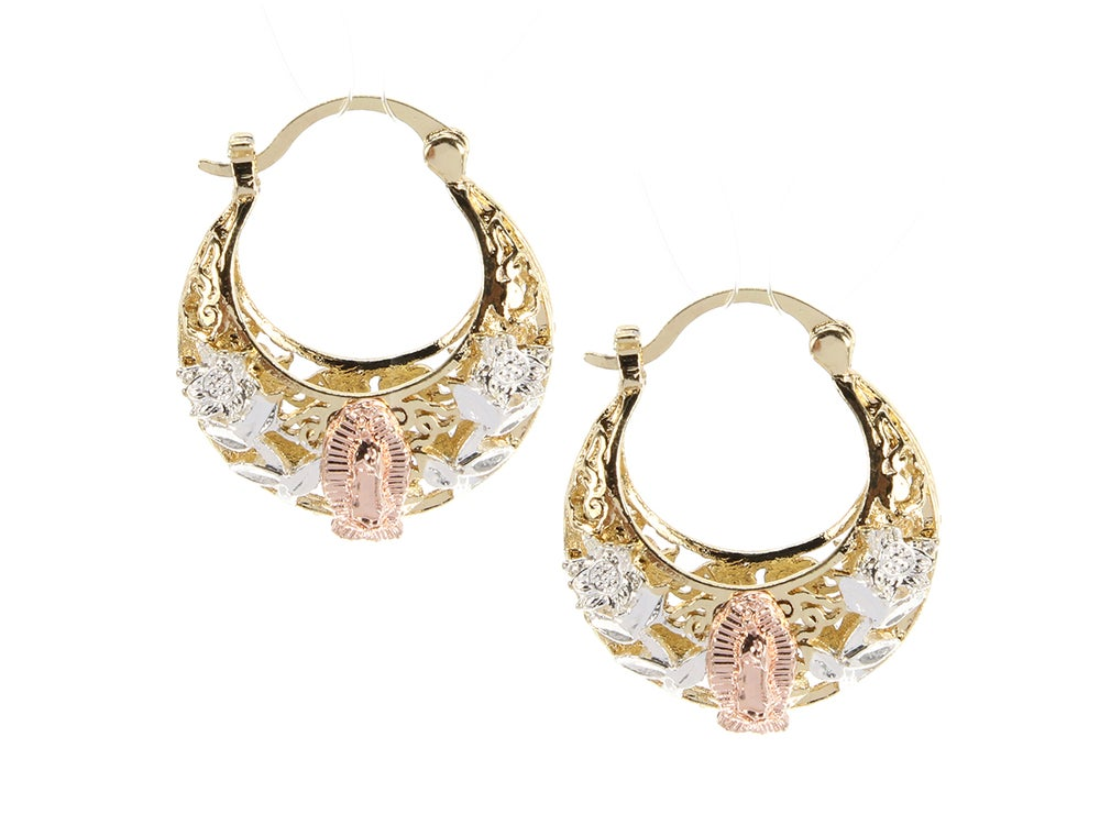 Image of Pink Lady Hoops