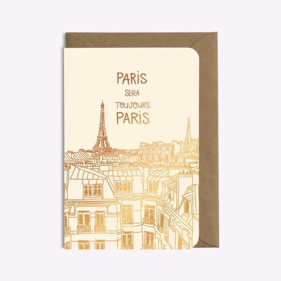 Image of CARTE PARIS SERA TOUJOURS PARIS