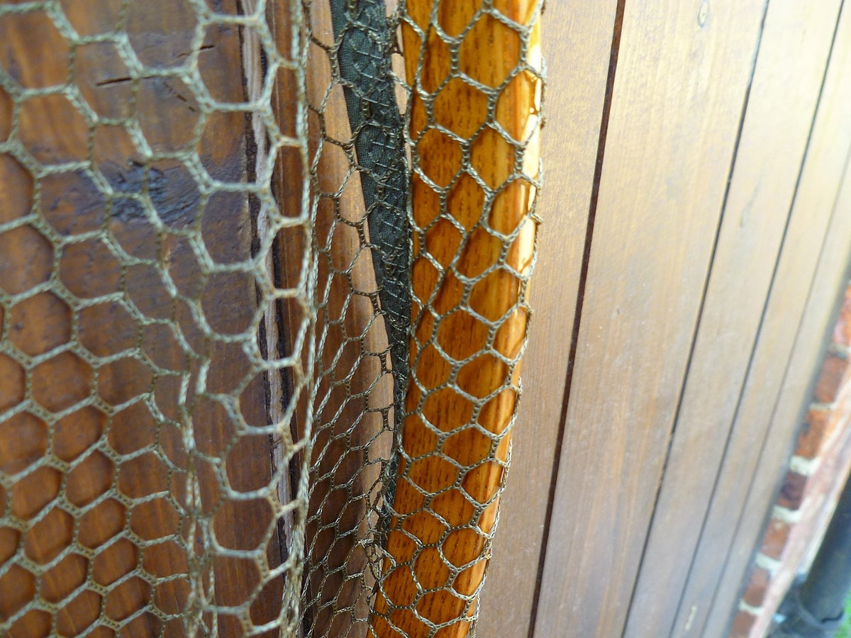 Image of Traditional Ash framed landing net