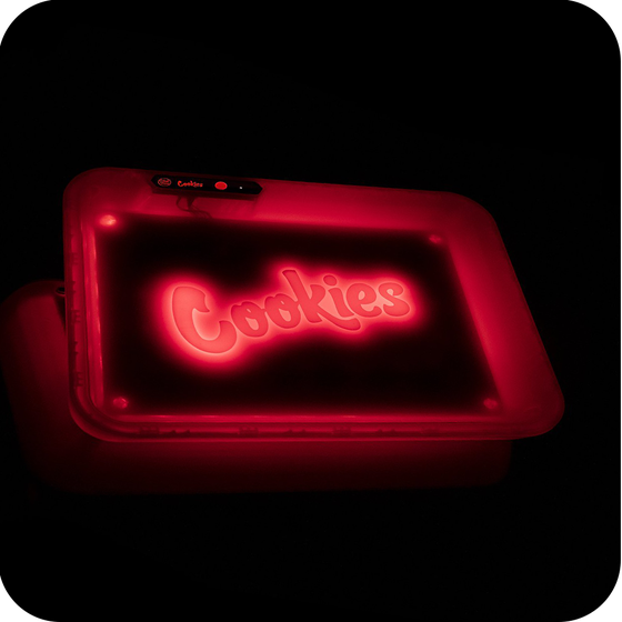 Image of GLOW TRAY x COOKIES RED