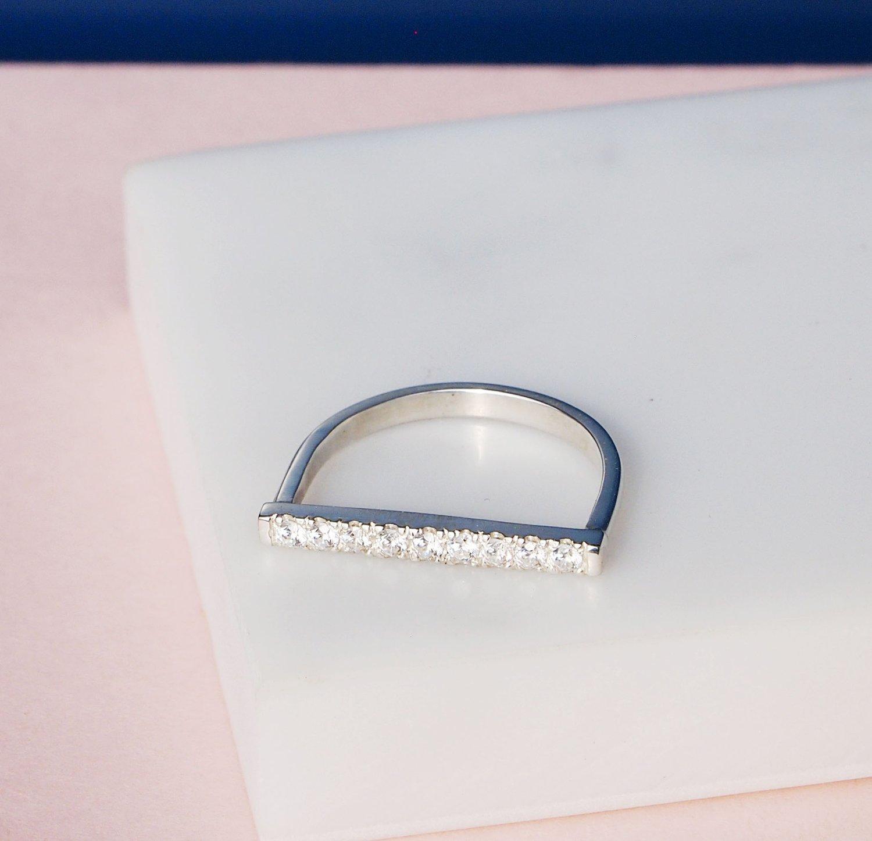 Image of Pavebar Ring