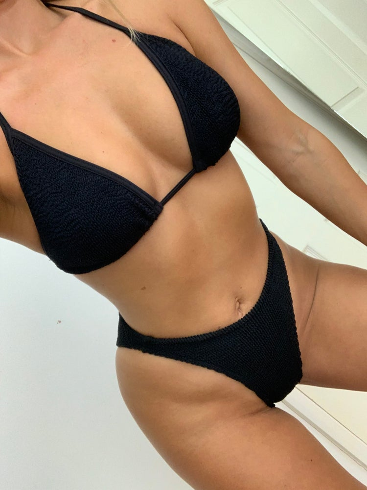 Image of Black Triangle Bikini