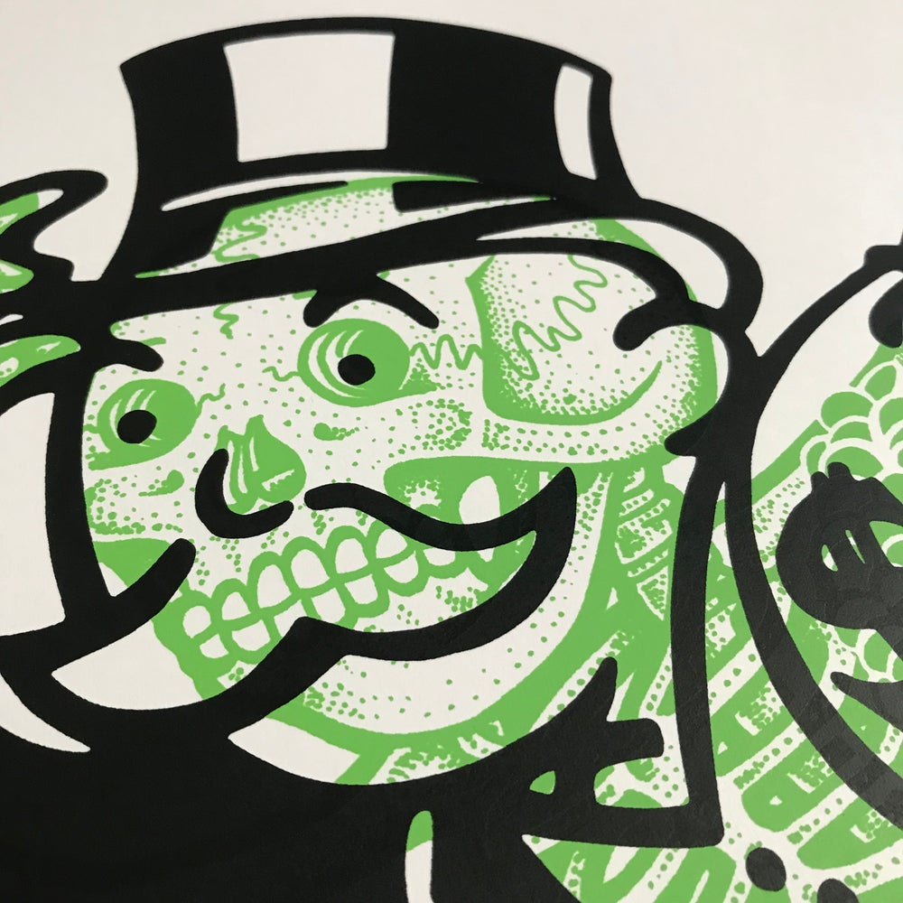 Image of Bonopoly Man  (regular edition) green/black