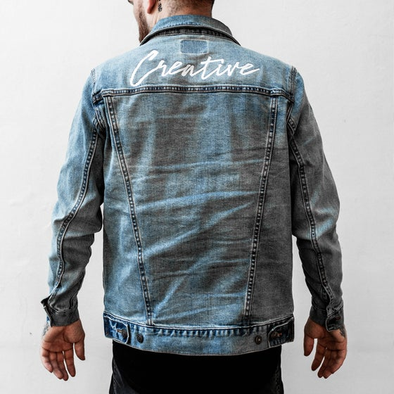 Image of Creative Jean Jacket (PREORDER)