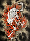 Fire Dancer print