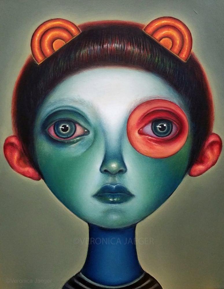 Image of GREEN (Original Painting)