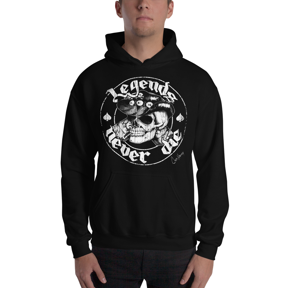 Image of LEGENDS PULLOVER UNISEX HOODIE
