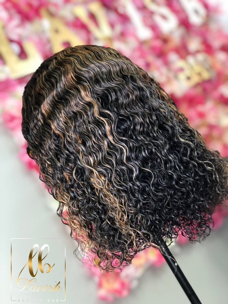 Image of Custom deep curly wig