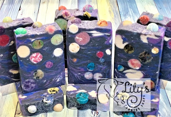 Image of Galactic Grape Goat Milk Soap