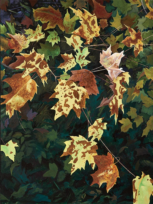 Image of Leaves print