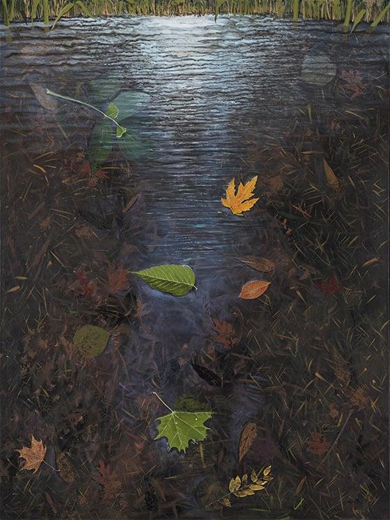 Image of Pond print